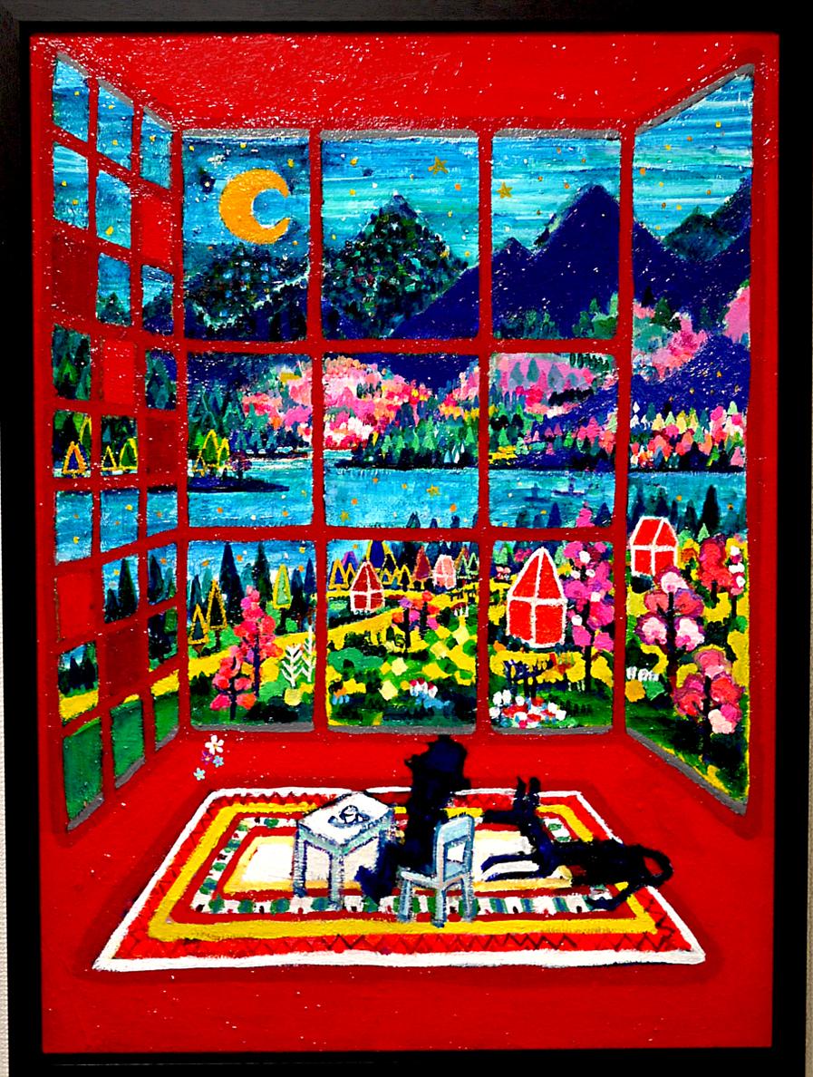 求龍堂より販売中 | ON SALE | スプリングルーム | 72 x 53 cm | 2020 | 3331 Art Fair