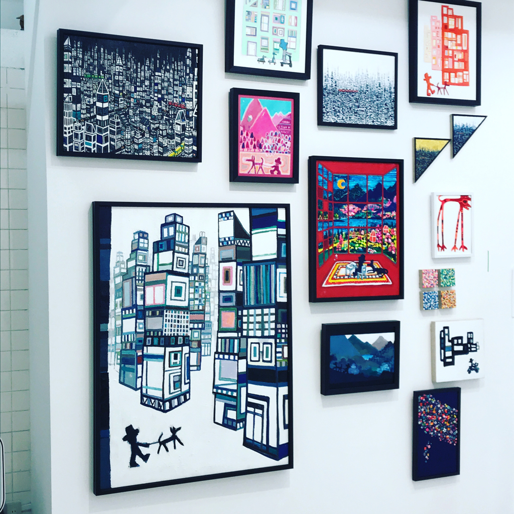 アートフェア展示作品の4点はオンライン販売されます。#3331アートフェア #アーツ千代田