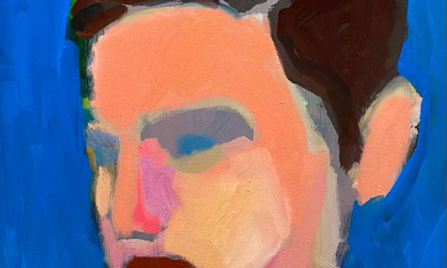 描きかけの絵   油彩 x 木製パネル   41 x 31 cm   2020 #現代アート