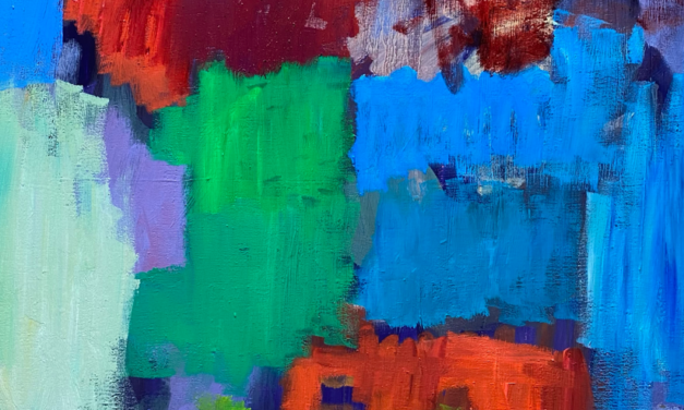 描きかけの絵   油彩 x 木製パネル   65 x 53 cm   2020 #現代アート