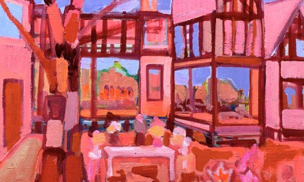 描きかけの絵   油彩 x 木製パネル   53 x 65 cm   2020 #現代アート
