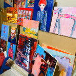 描きかけの絵   2020 #現代アート
