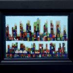 ON SALE | S-Bahn | 油彩 x キャンバスボード | 15 x 22 cm #現代アート