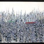 ON SALE   まち   油彩 x キャンバス   80 x 100 cm   2019   求龍堂 #現代アート