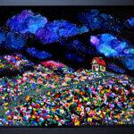 ON SALE | 夜のはなばたけ | 33x53CM | 2016 | ARTSTICKER  #現代アート