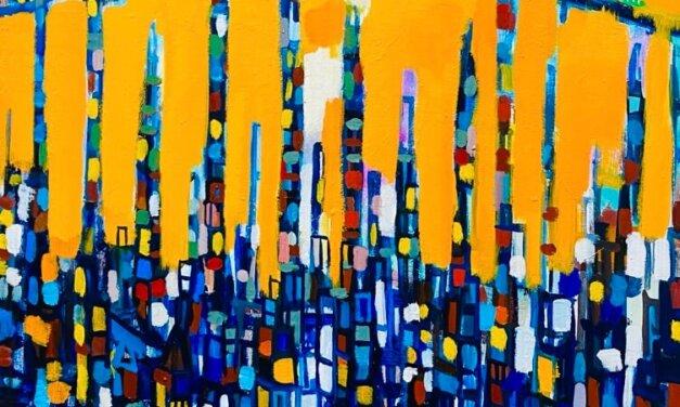 描きかけの絵 | 油彩 x 木製パネル | 72 x 53cm | 2021 #絵画