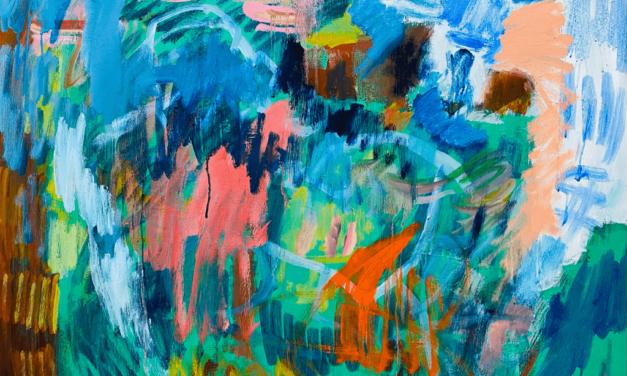 描きかけの絵 | 油彩 x 木製パネル | 53 x 65cm | 2021 #アート